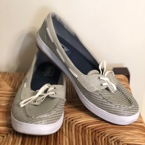 Less Glimmer Boat Shoe.